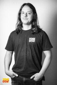 Dominic Jucker Stage crew Schweiz Stagehand Steelhand Personalverleih